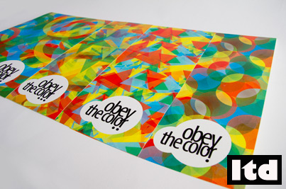 Print obey the color Odysseas Galinos